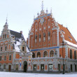 House of Blackheads in Riga, Latvia — Stock Photo #11960255