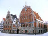 House of the Blackheads in Riga, Latvia — Stock Photo