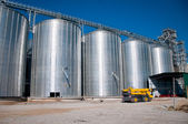 Grain Silos — Stock Photo