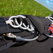 Skydiving equipment — Stock Photo