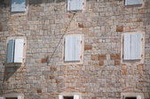 Window in old town — Stock Photo