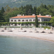 Miločer villa on the Adriatic Sea - Stock Photo