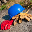 Safety gear kit close up — Stock Photo #11433714