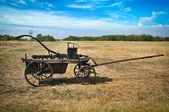 Old fire cart — Stock Photo