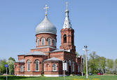 Church of the Intercession of the Virgin (Church of the Intercession). Gavrilovsky, Moscow region — Stock Photo