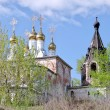 Church of the Nativity Monastery of Sts. Borisogleb, Murom district - Stock Photo