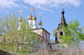Church of the Nativity Monastery of Sts. Borisogleb, Murom district — Stock Photo