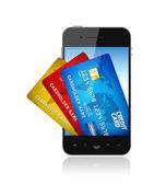 Conceito de carteira eletrônica — Foto Stock