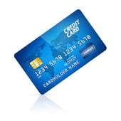 Credit Card Isolated — Stock Photo