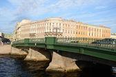 フォンタンカ運河に架かる橋 — ストック写真