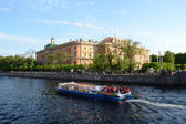 Mikhailovsky Castle, St. Petersburg — Stock Photo