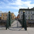Small bridge in St. Petersburg — Stock Photo #11047941
