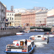 River channel in Saint-Petersburg — Stock Photo