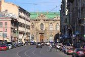Belinsky Street, Saint Petersburg, Russia — Stock Photo