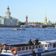 Stock Photo: View of River Neva