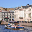 Stock Photo: River channel in Saint-Petersburg