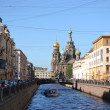 Stock Photo: Griboedov Canal in Saint-Petersburg