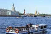 View of the River Neva — Stock Photo