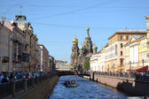 Griboedov Canal in Saint-Petersburg — Stock Photo