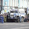 Big russipolice car, Nevsky Prospect — Stock Photo #11224312