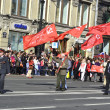 Communist demonstration — Stock Photo
