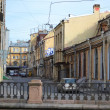 View of old part of St.Petersburg — Stock Photo