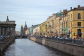 Griboedov canal — Stock Photo