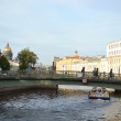Stock Photo: Small bridge in St. Petersburg