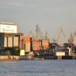 Admiralty Shipyards in St.Petersburg - Stock Photo