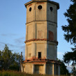 Stock Photo: Old ruined tower in Priory Park