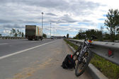 Kiev highway — Stock Photo