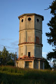 The old ruined tower in Priory Park — Stock Photo