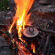 Pan on a fire — Stock Photo #12248061