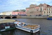 View of Fontanka River in St.Petersburg — Stock Photo