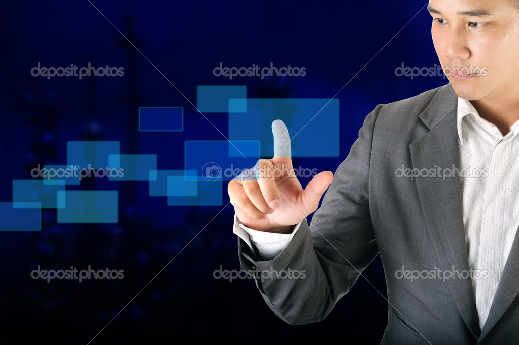 Business man — Stock Photo #10925889