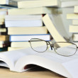 Glasses put on book — Stock Photo #11264902