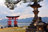 Reflection of Miyajima — Stock Photo