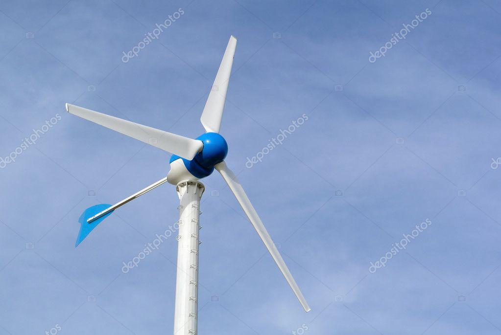 风力发电机组 — 图库照片