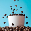 Coffee beans background — Stock Photo #11542225
