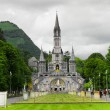 View of cathedral in Lourdes — Stock Photo #11435775