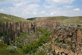 Ihlara valley in Turkey — Stock Photo