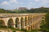 Roman aqueduct in Tarragona, Spain — Stock Photo
