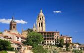 Panoramic view of Segovia — Stockfoto