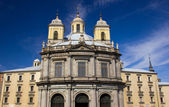 Church in the center of Madrid — Стоковое фото