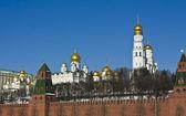 Moscú, las catedrales del kremlin — Foto de Stock