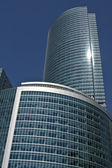 Moscow, modern building — Stock Photo