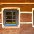 Stock Photo: Vintage looking window of old wooden house