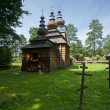 Stock Photo: Very old wooden church