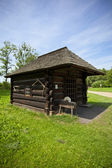Old traditional blacksmith`s house — Stock Photo