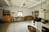 Kitchen of an old traditional house — Stock Photo